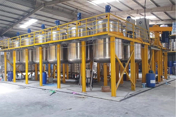 Mẫu mã sản phẩm từ nguyên liệu đến chỗ chứa đều theo quy chuẩn